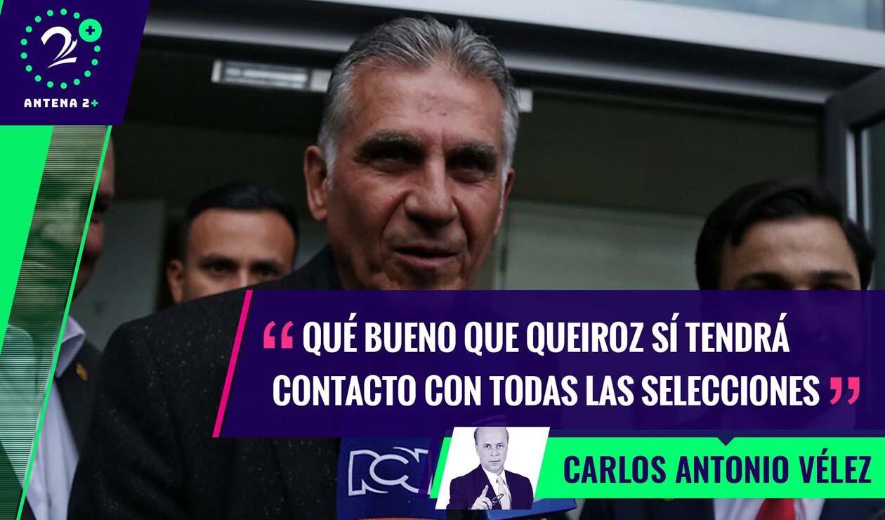 Carlos Queiroz, nuevo técnico de Colombia