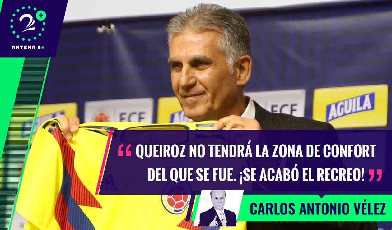 Carlos Queiroz, técnico de la Selección Colombia