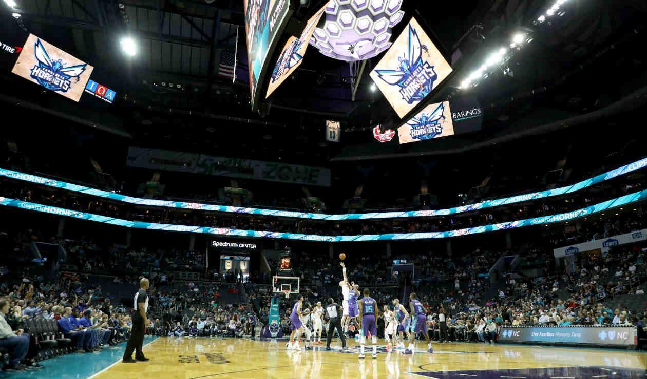 Spectrum Center, casa de los Charlotte Hornets