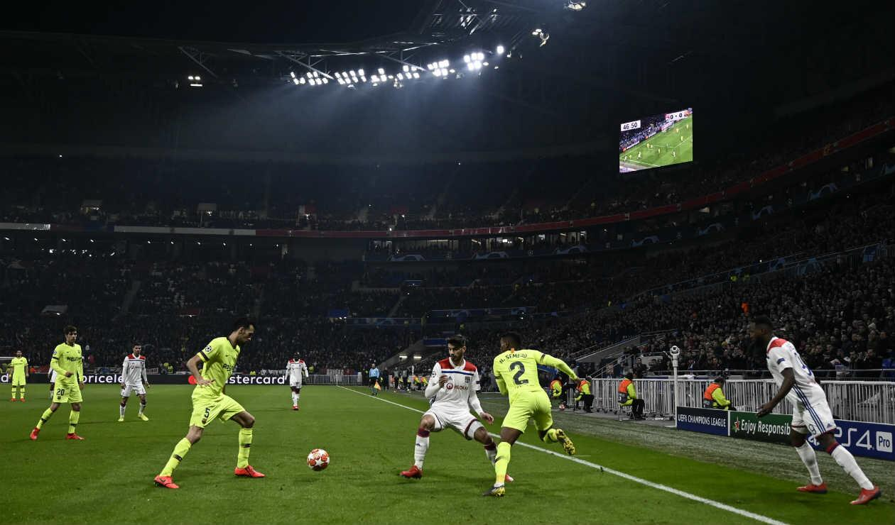 Lyon Vs. Barcelona