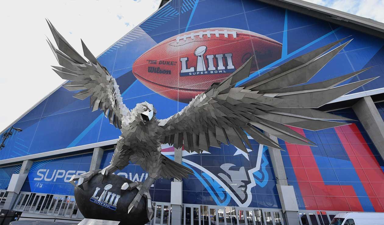 Mercedes Benz Stadium, sede del partido entre Patriots y Rams en el Super Bowl