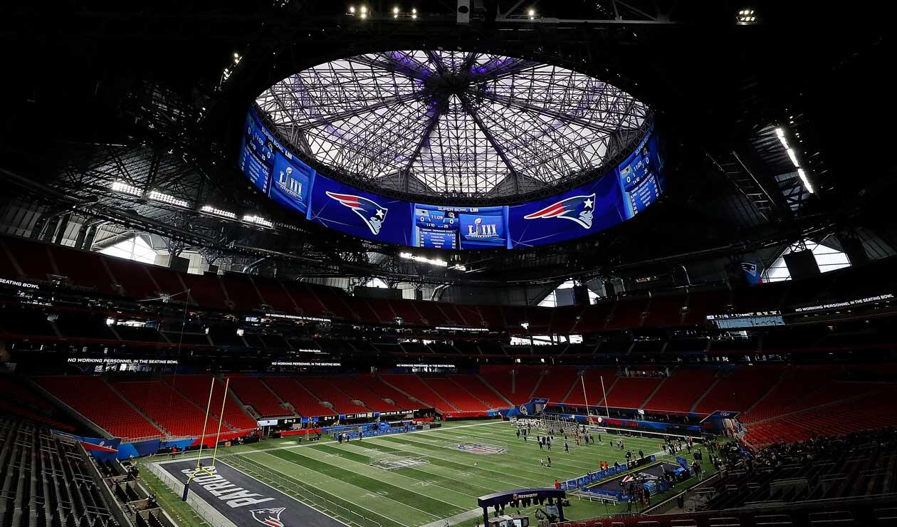 Mercedes Benz Stadium, sede del Super Bowl 2019