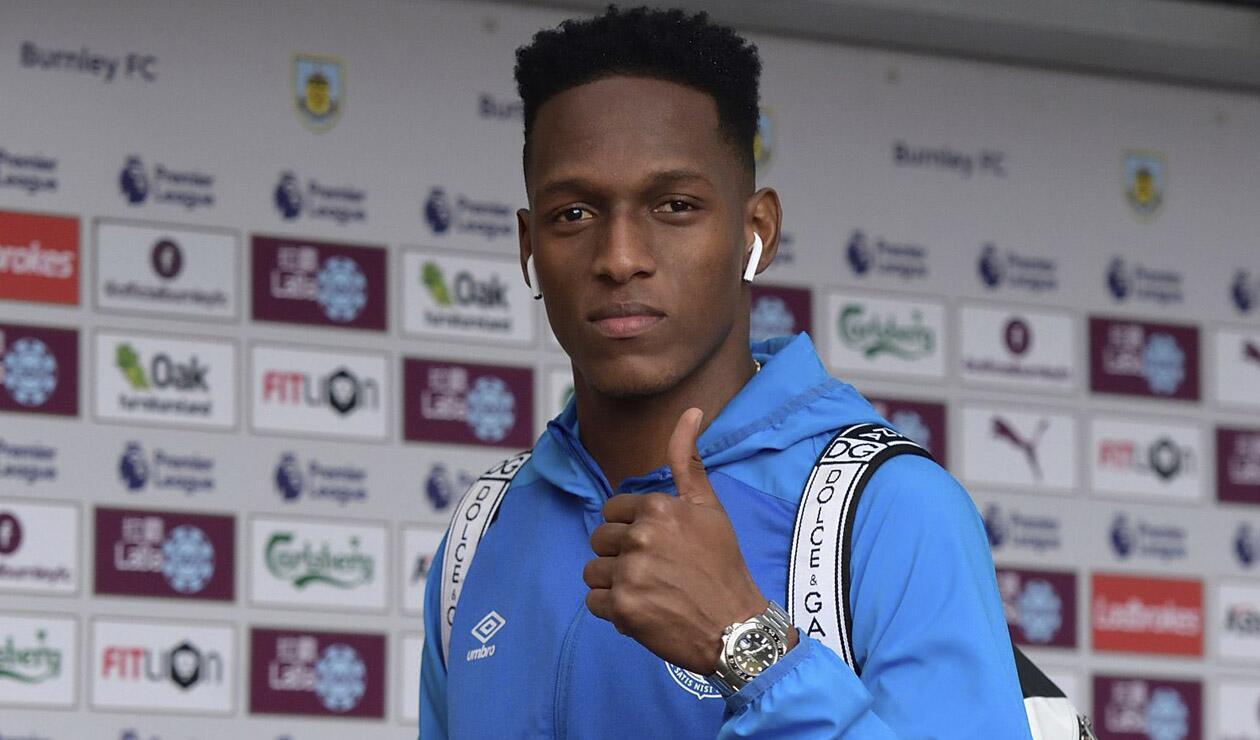Yerry Mina, jugador del Everton