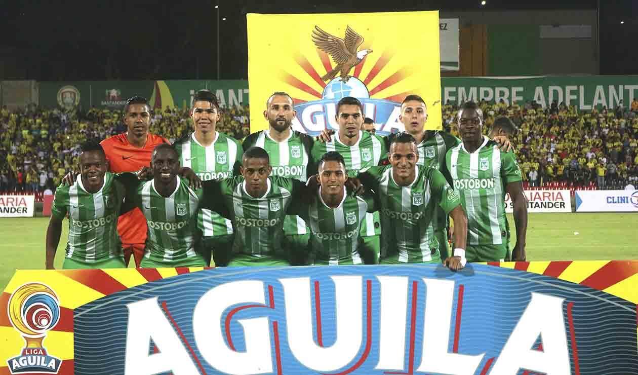 Atlético Nacional, equipo formado 2019