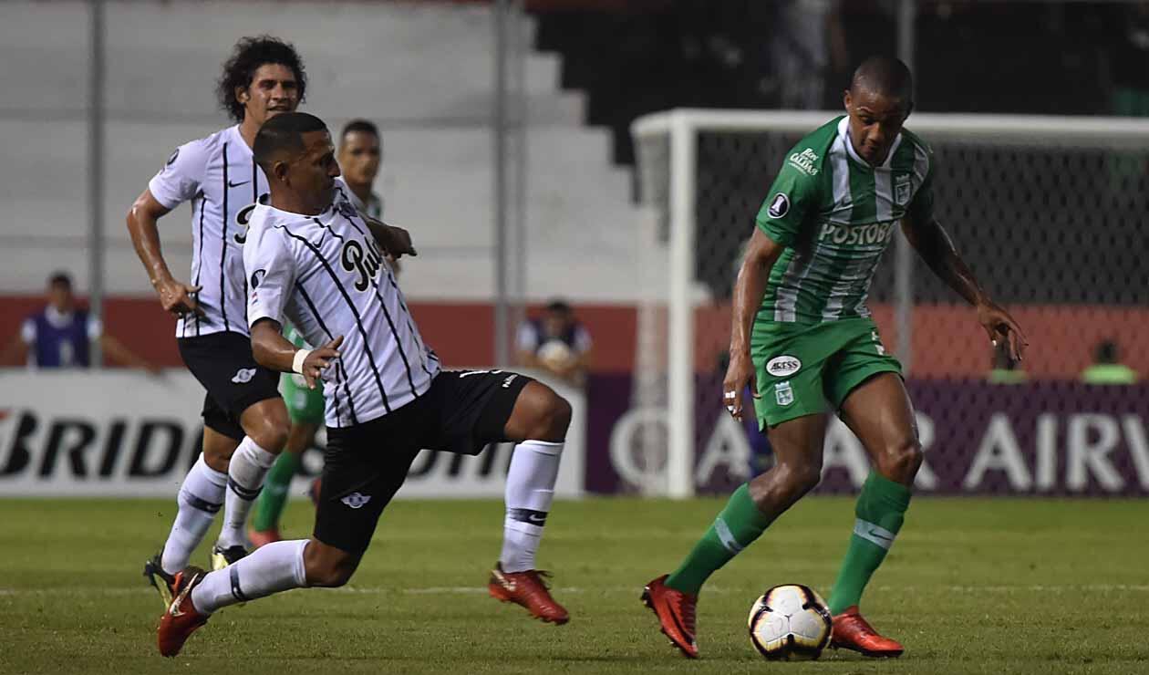 Atlético Nacional vs Libertad - Copa Libertadores