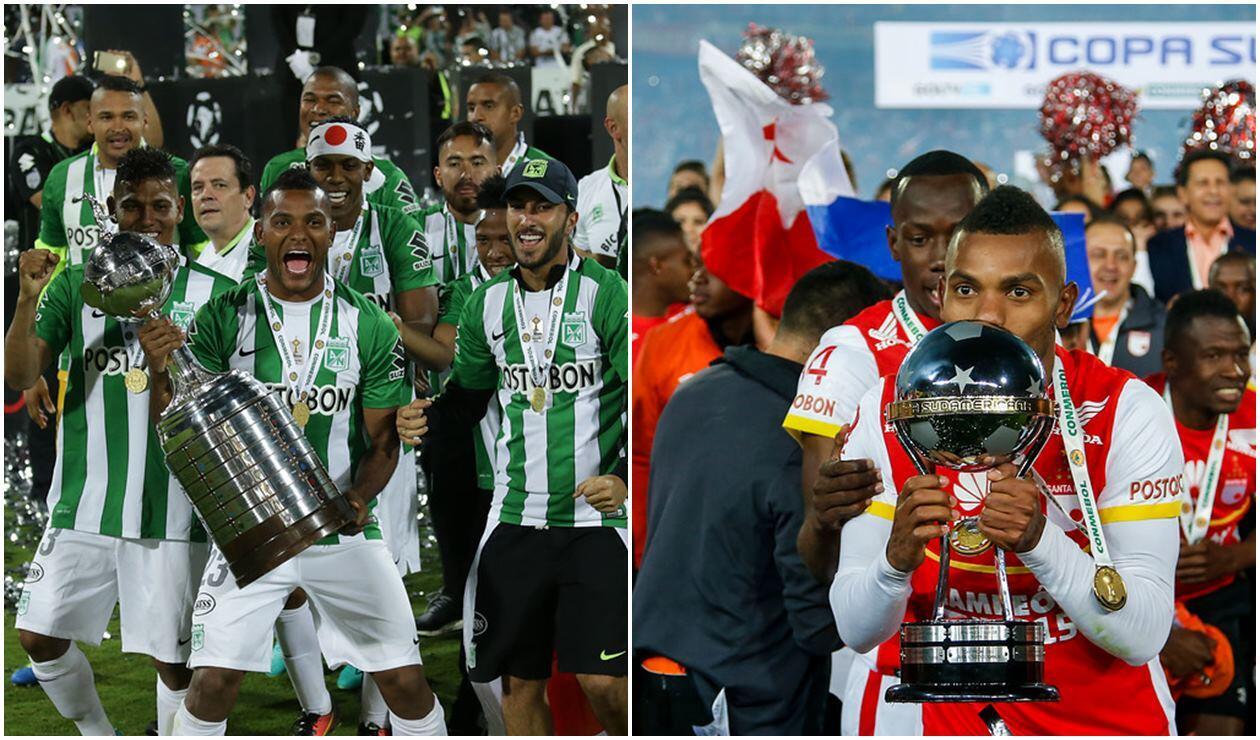 Atlético Nacional 2016 - Independiente Santa Fe 2015