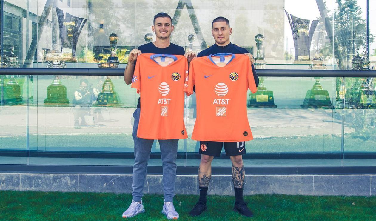 Nicolás Benedetti y Nicolás Castillo