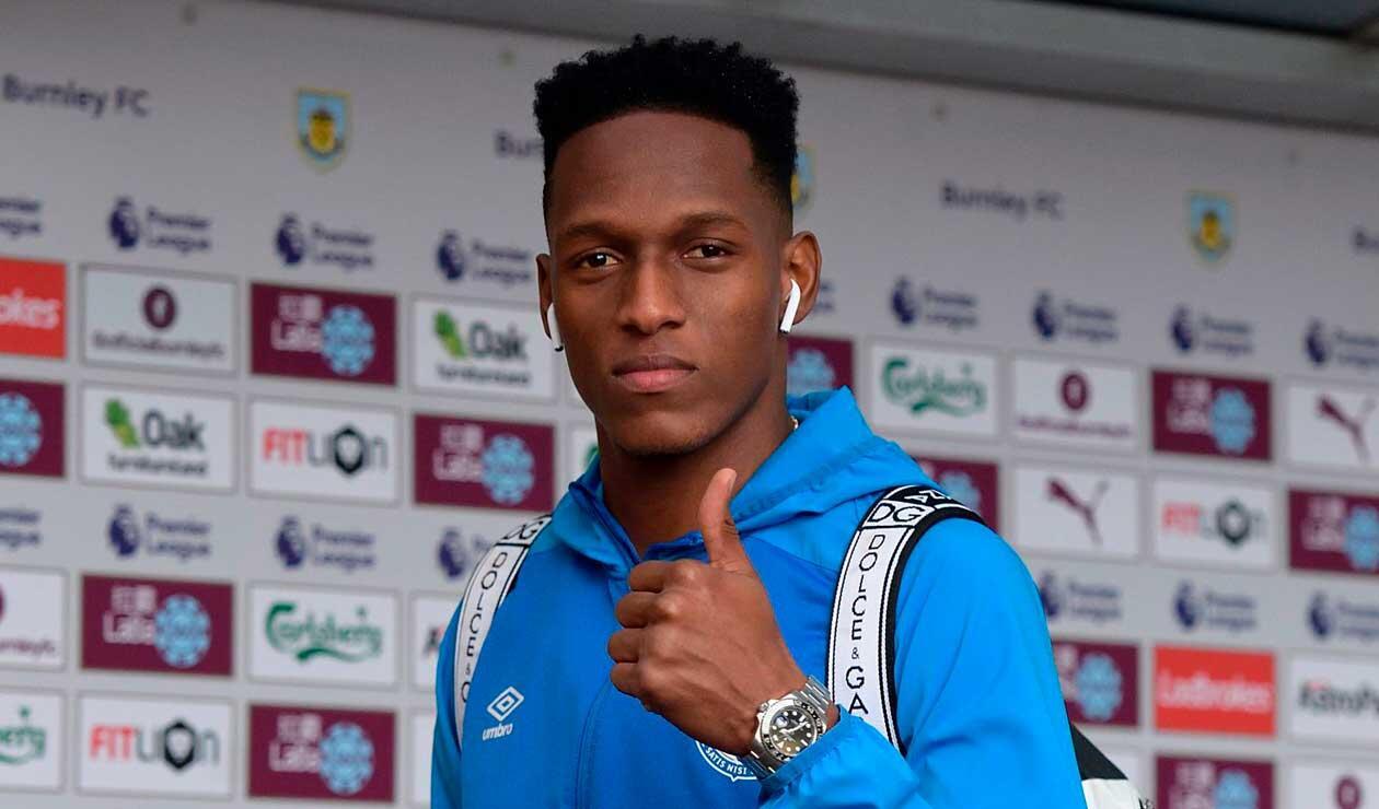 Yerry Mina volvió a entrenamientos con el Everton