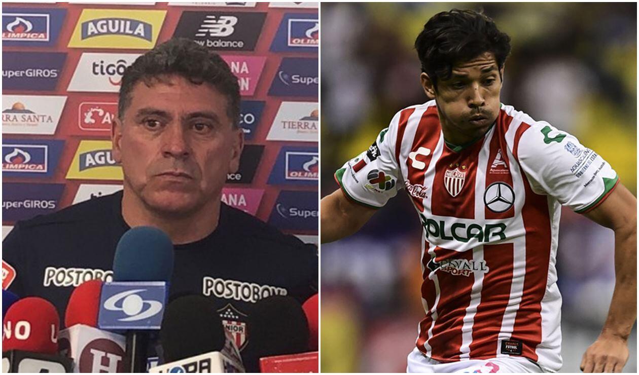 Luis Fernando Suárez y la primera decisión con Matías Fernández