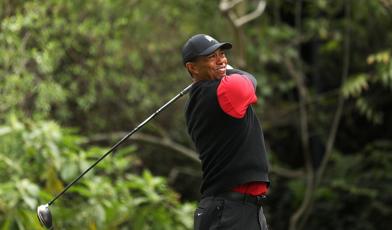 Tiger Woods durante el Genesis Open