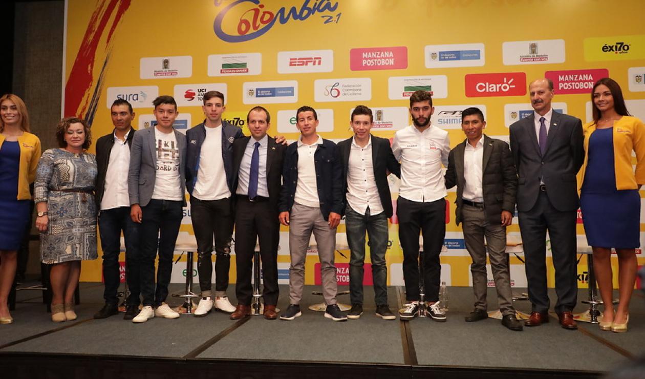Tour Colombia 2.1 - Presentación de la camiseta