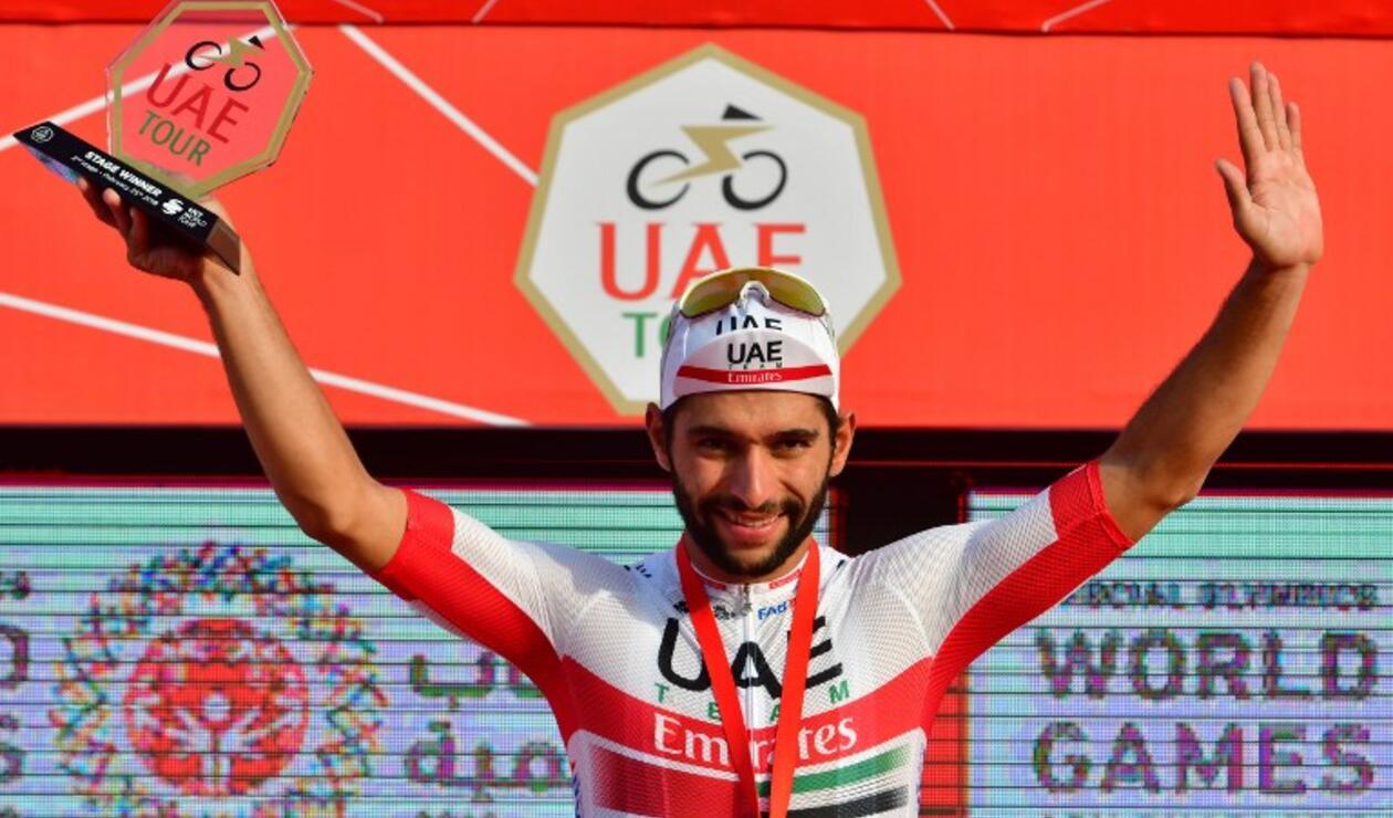Fernando Gaviría, ciclista del Team Emirates