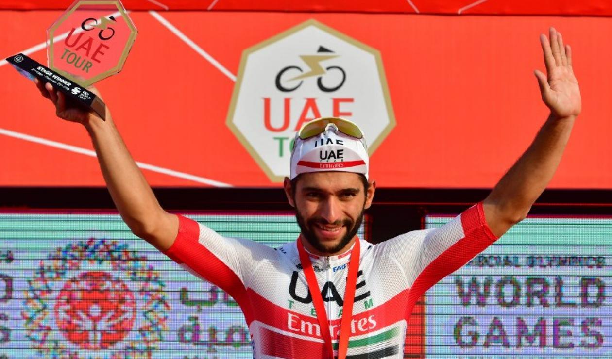 Fernando Gaviria, ciclista del Team Emirates
