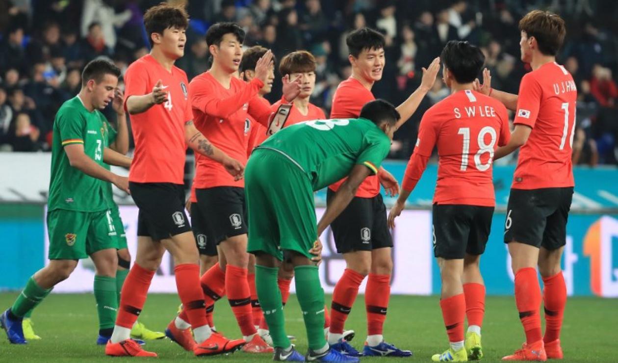 Corea del Sur venció a Bolivia antes de enfrentar a Colombia