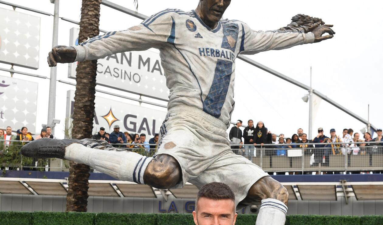 Estatua de David Beckham