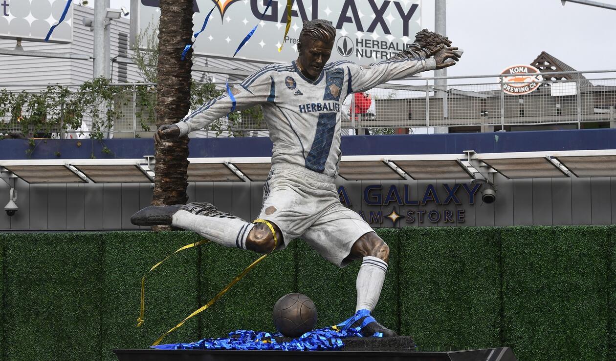 Estatua de David Beckham