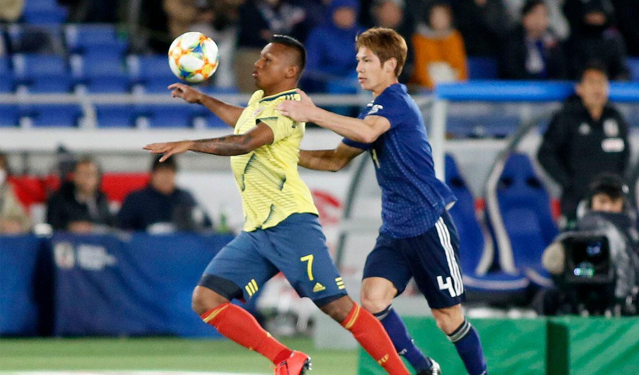 Colombia alcanzó la tercera victoria de su historia ante Japón
