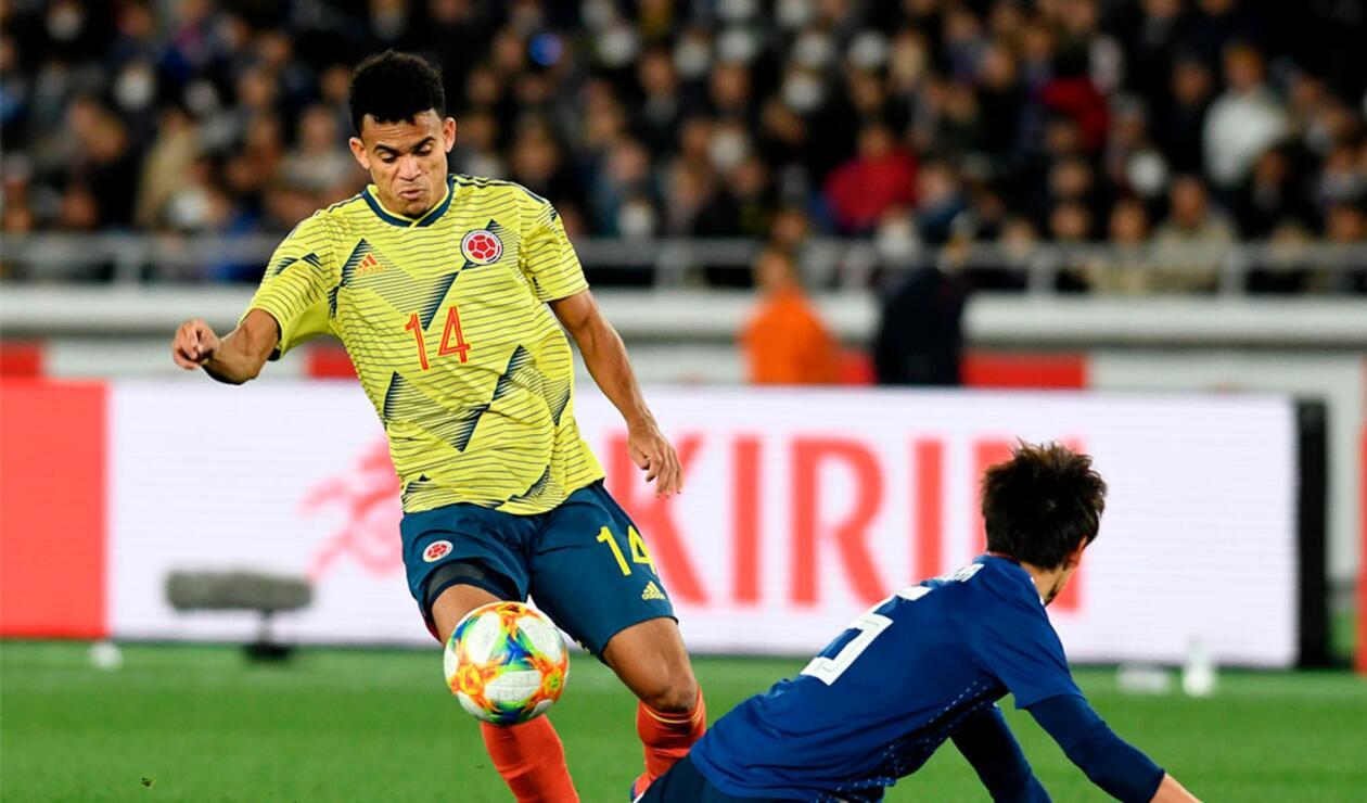 Ante Japón, Luis Díaz debutó con la Selección Colombia