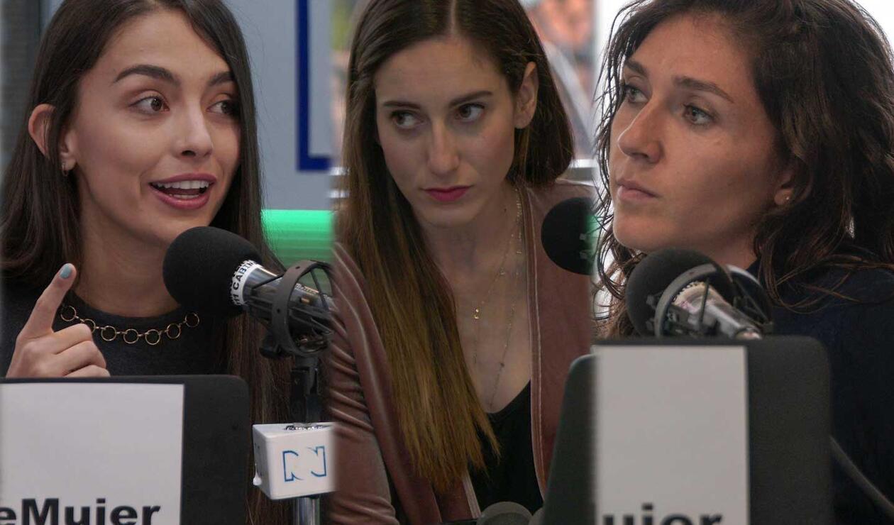 Isabella Echeverri, Melissa Ortiz y Natalia Gaitán en diálogo con RCN Radio