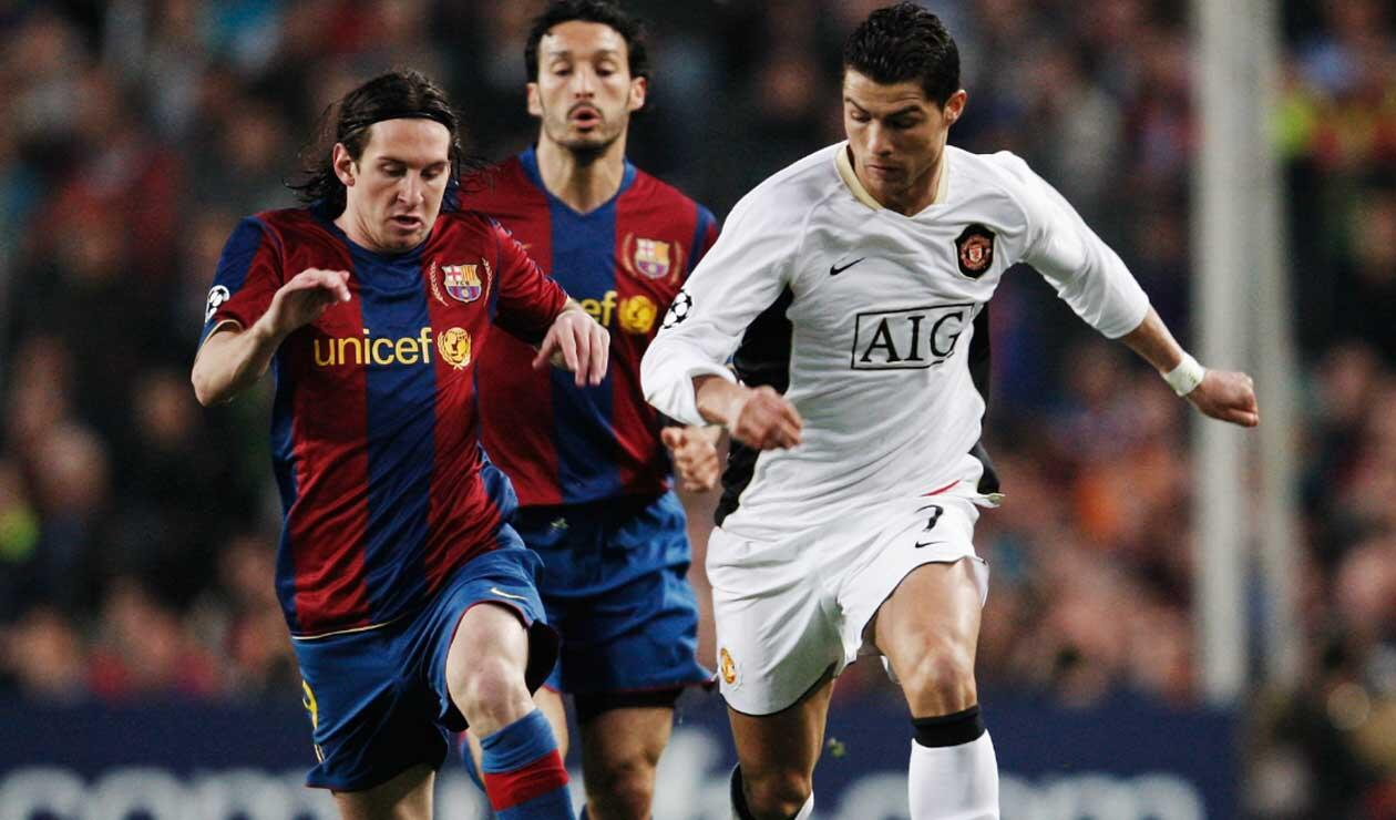 Mancheter United - Barcelona por Champions League