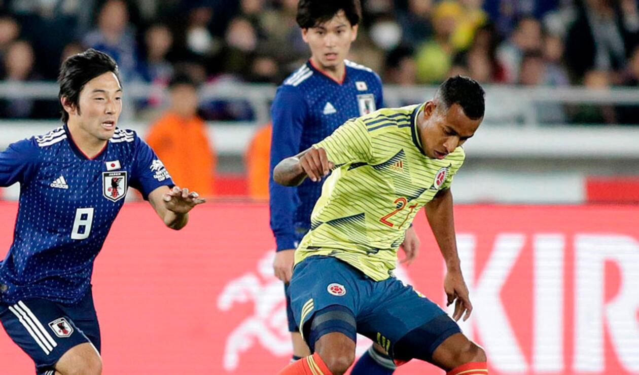 Sebastián Villa, una de las novedades en la titular de Colombia ante Japón.