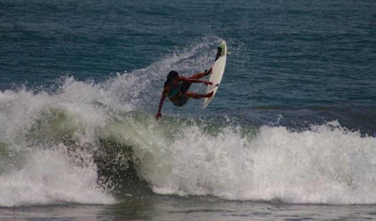 Surfista brasileña