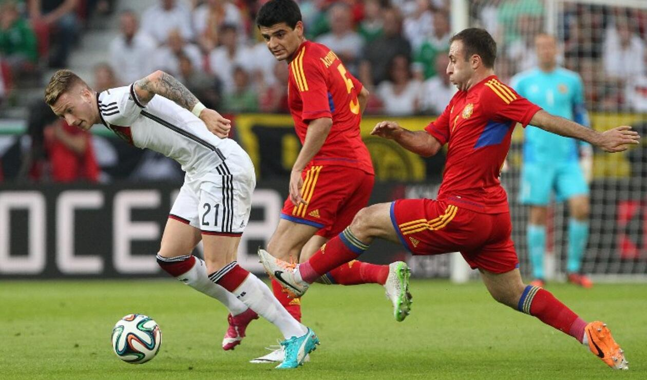 Armenia vs Alemania, UEFA