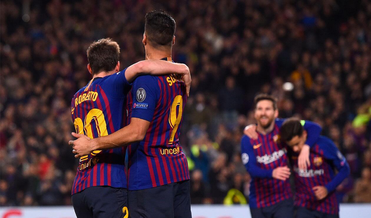 Barcelona y Lyon habían empatado en la ida de los octavos de final de la Champions.