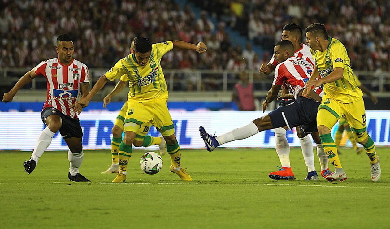 Junior vs Bucaramanga - Fecha 9 Liga Águila 2019-I