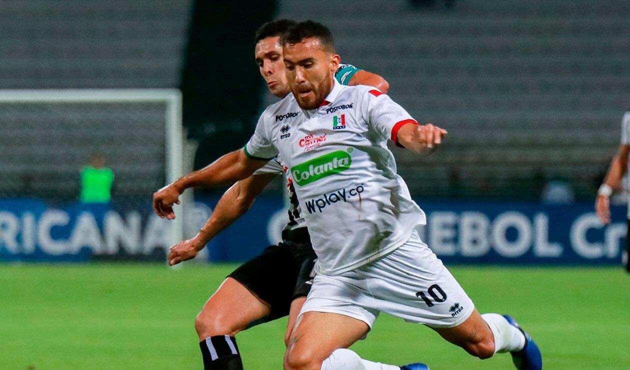 Juan Pablo Nieto, jugador cedido por Atlético Nacional al Once Caldas. El préstamo termina en junio de 2019.