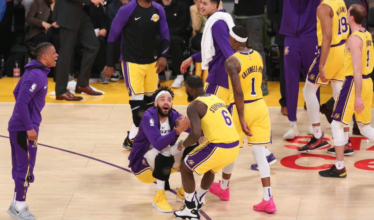 Lance Stephenson de los Lakers
