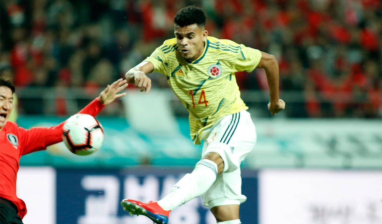 Luis Díaz anotó el gol del empate 1-1 ante Corea del Sur.