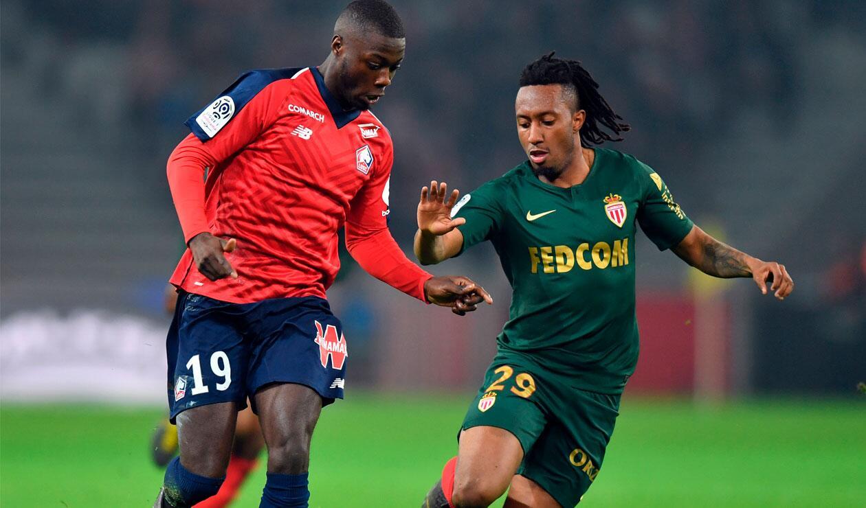 Falcao, ausente con el Mónaco ante Lille en la Liga 1 de Francia