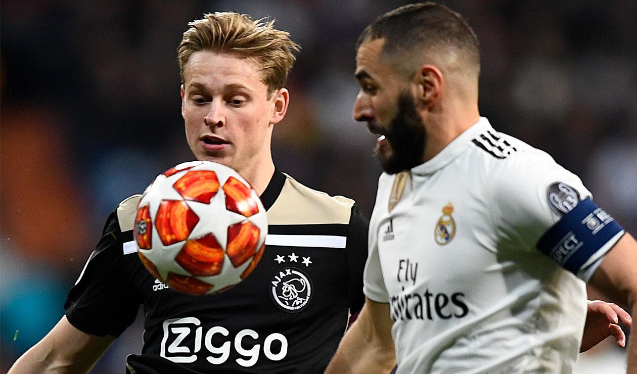Ajax Vs Madrid: Real Madrid, Goleado Por El Ajax Y Eliminado De La