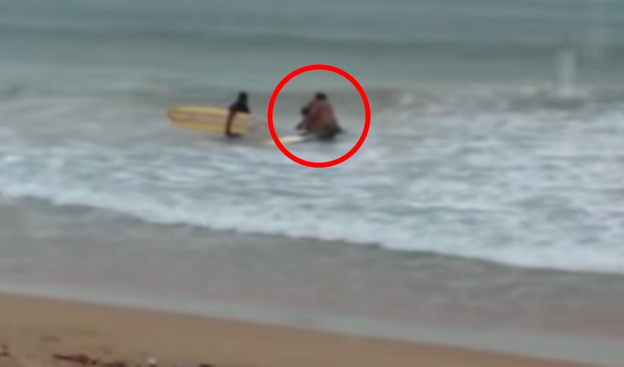 Surfista falleció tras ser alcanzada por un rayo