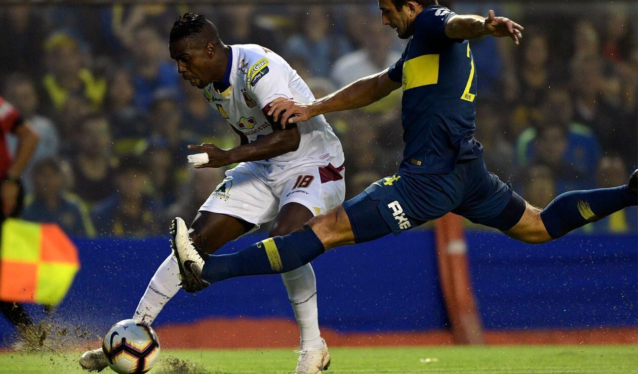 Deportes Tolima disputó un primer tiempo destacado ante Boca Juniors