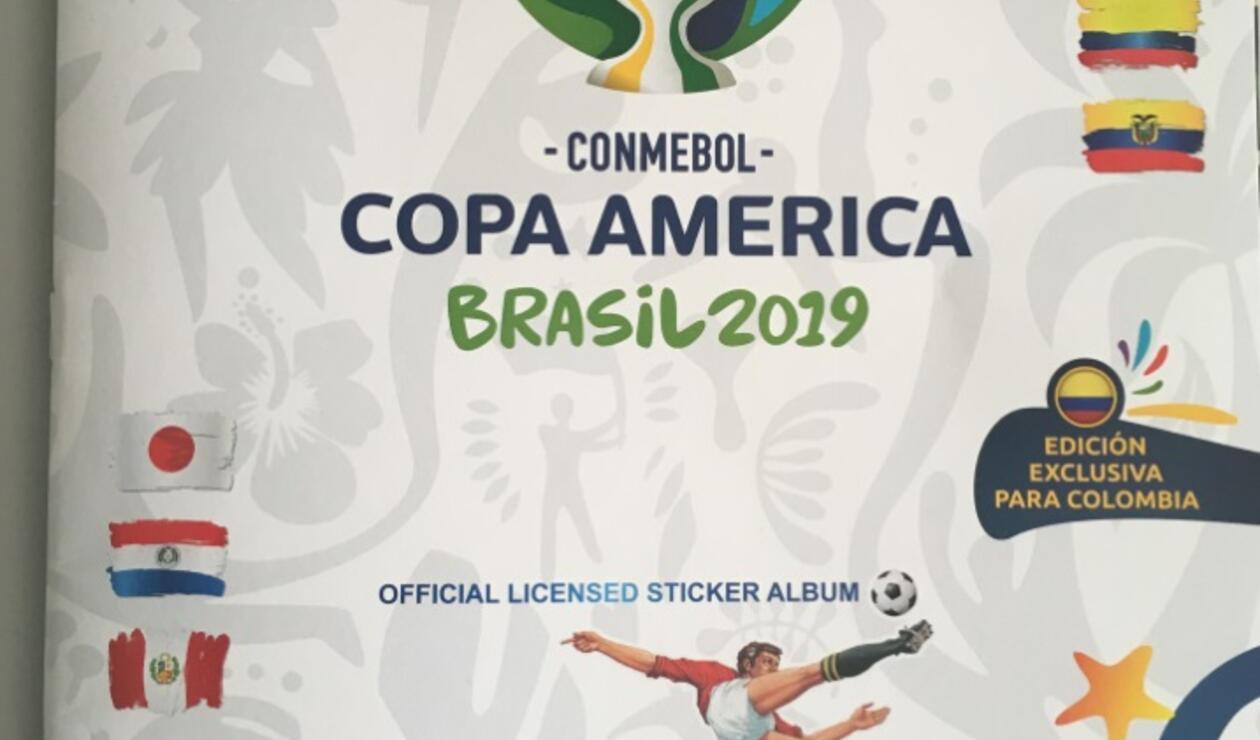 Álbum Panini - Copa América
