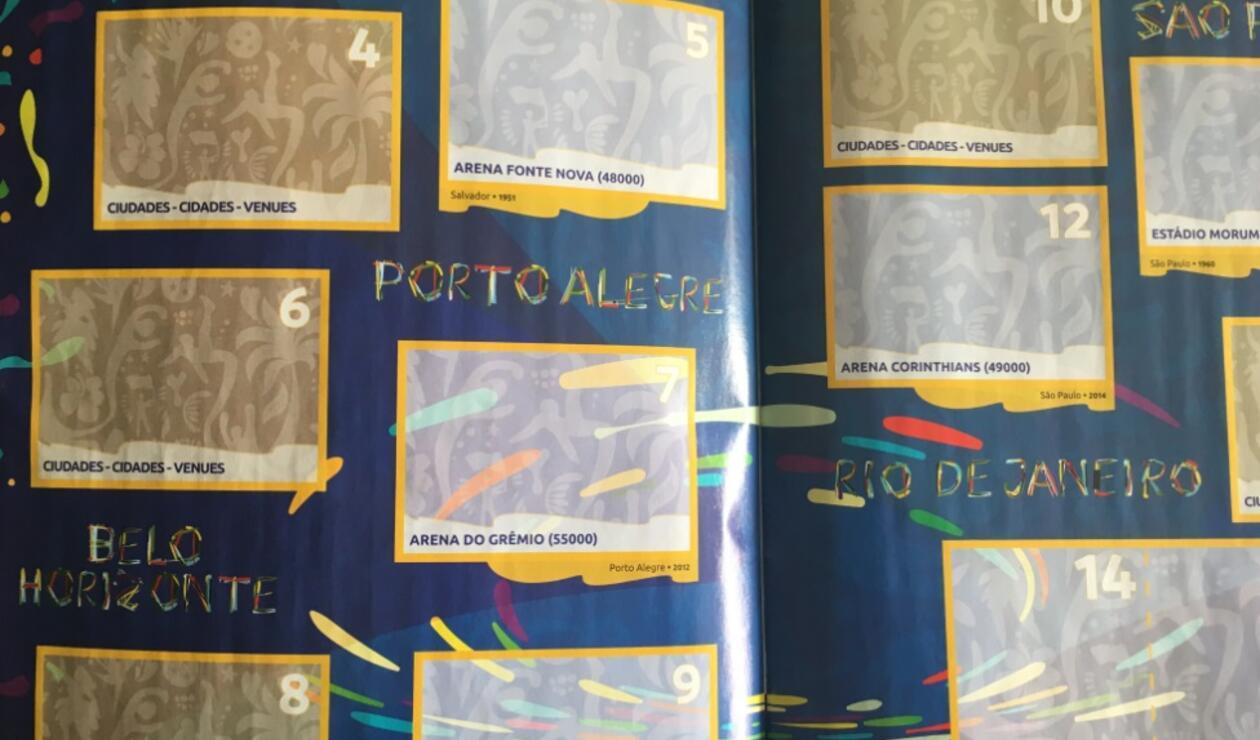 Álbum Panini- Copa América 2019