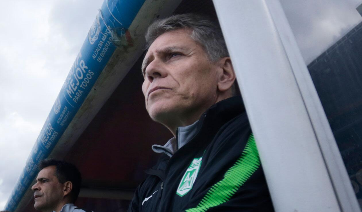 Paulo Autuori, en la mira de los hinchas de Atlético Nacional.