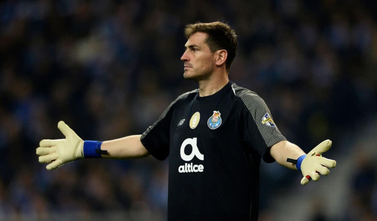 Iker Casillas, arquero español que juega en el Porto