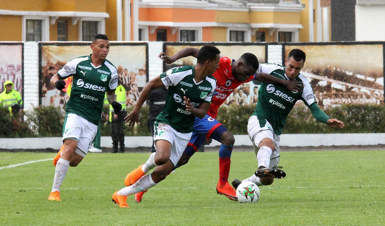 Deportivo Pasto vs Deportivo Cali - Fecha 9 Liga Águila 2019-I