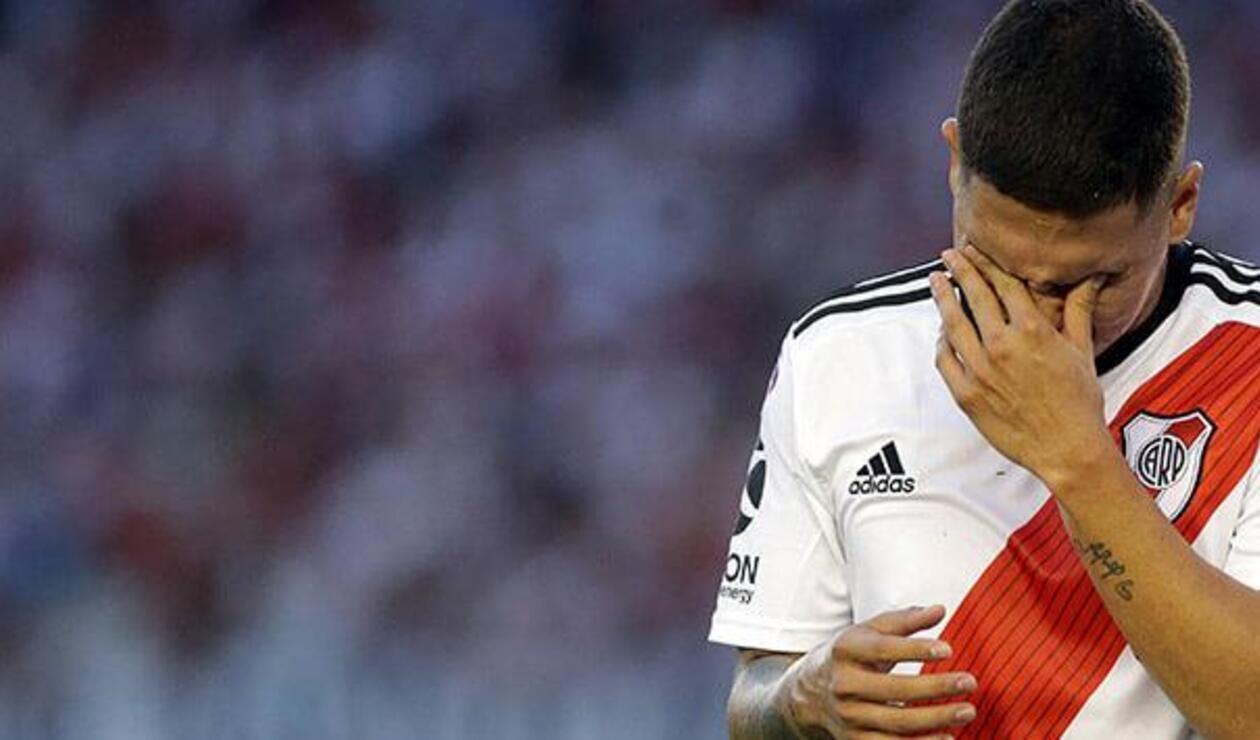Juan Fernando Quintero, jugador colombiano de River Plate