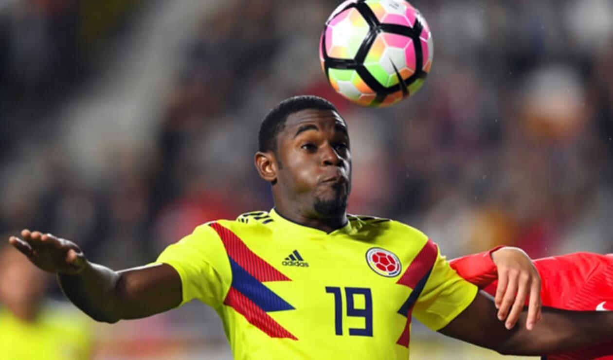 Duván Zapata, delantero de la Selección Colombia