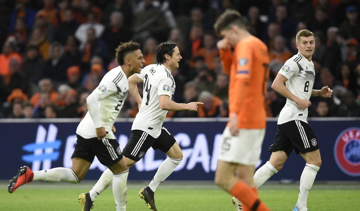 Holanda vs Alemania