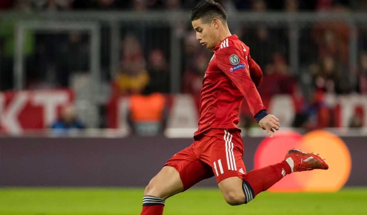 James Rodríguez - Bayern Múnich 2019