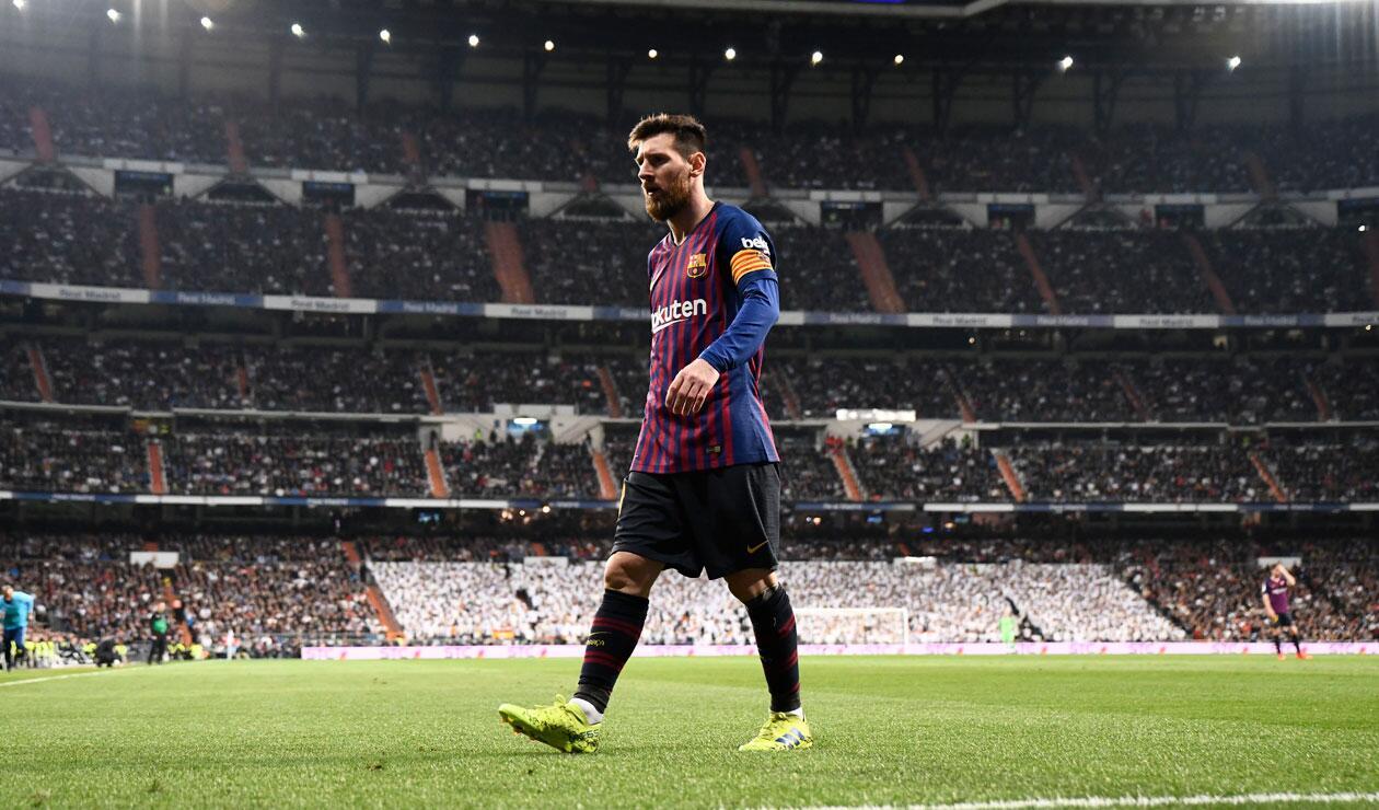 Messi no tuvo el brillo esperado durante la última victoria del Barcelona sobre Real Madrid.