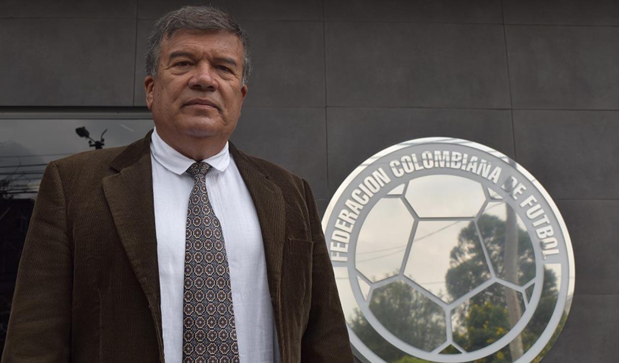 Nelson Abadía - Técnico de la Selección Colombiana Femenina