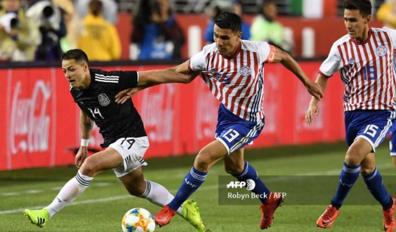 México vs Paraguay - Fecha FIFA