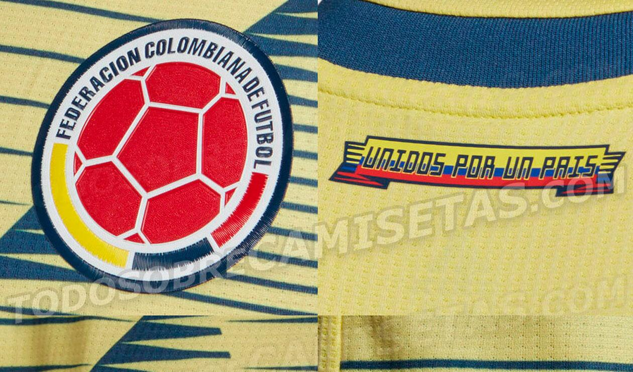Sería la nueva camiseta de la Selección Colombia