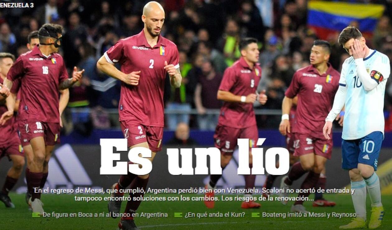 Diario Olé - Argentina